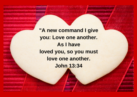 -A new command I give you- Love one (1)